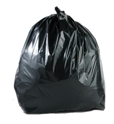 Picture of HEAVY DUTY GREENDOT BLACK SACK [100] 18X29X39